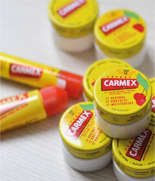 Quel baume Carmex emporter avec moi cet été ?